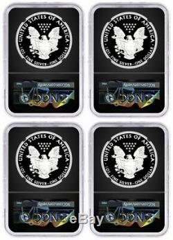 Ensemble De Félicitations Silver Eagle 2019 W Ngc Pf70 Fdoi Mercanti Mint Locations