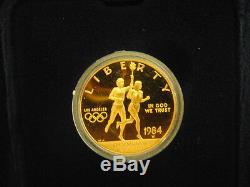 Jeux Olympiques Américains De 10 Dollars En Or Avec Épreuve De 10 Usd - Pièces En Or Lot 1
