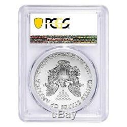 Lot De 10 2020 (p) Question 1 Oz D'argent American Eagle Pcgs Ms 70 Fdoi D'urgence