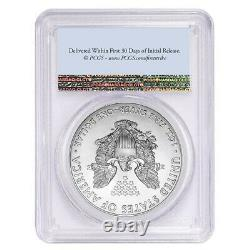 Lot De 20 2021 1 Oz Silver American Eagle $1 Coin Pcgs Ms 70 First Strike Flag