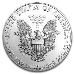 Lot De 20 Argent 2015 American Eagle 1 Oz 999 Fines Pièces De 1oz Label Ngc Ebay