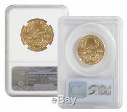 Lot De 2 25 $ 1/2 Oz Américaine Gold Eagle Ms69 Pcgs Ou Ngc (date Aléatoire)