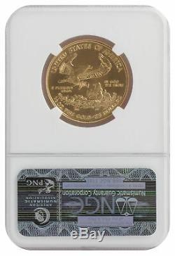 Lot De 2 25 $ 1/2 Oz Gold Eagle Américain Ms70 Pcgs Ou Ngc (date Aléatoire)