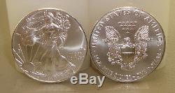 Lot De (40) 2019 1 Oz. 999 Beaux-aigles Argent Américain Aigles Silver Eagle Coins Eagles