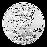 Lot De 500 X 1 Oz Au Hasard Année American Eagle Silver Coin