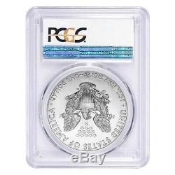 Lot De 5 2020 (w) 1 Oz D'argent American Eagle Pièce De 1 $ Pcgs Ms 70 Fs West Point