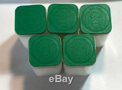 Lot De 5 Bu 1 Oz D'argent 2007 American Eagles, 1 Oz Coins. 999 En Argent Fin