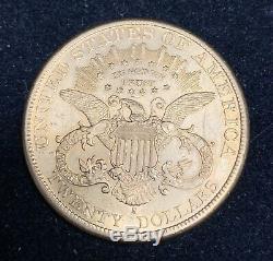 Mint État 1898-s 20 $ Liberté Double Eagle Vingt Dollars Ancienne Pièce D'or Ms