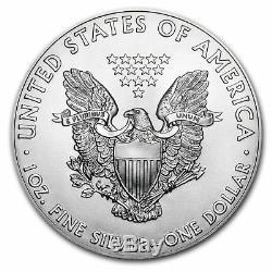 Monnaie Américaine 2017 $ 1 American Silver Eagle Pièce De 1 Once En Argent Lot De 20 Tubes Scellés