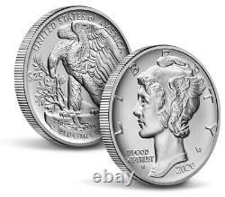 Monnaie Américaine 2020 American Eagle One Ounce Palladium Uncirculated Coin 20ek Preorder