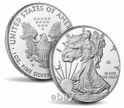 Monnaie Américaine Fin De La Seconde Guerre Mondiale 75e Anniversaire American Eagle Silver Proof Coin