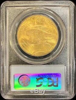 Monnaie Lustrée Aigle Saint Gaudens Ms64 Pcgs 20 Pièces 1927 $