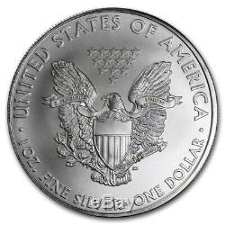 Monstre Scellé U. S. Mint 2010, Boîte De 500.999 Pièces D'argent Américaines Représentant Un Aigle