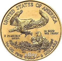 Pièce D'or Des États-unis American Eagle Année Aléatoire 1 Oz (monnaie Des États-unis)