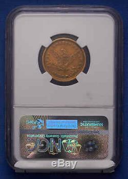 Pièce D'or En Demi-aigle Liberty De 1839-c $ 5 Ngc Au 50e Super Scarce, 1ère Charlotte