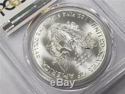 Pièce De 1 $ Us En Argent American Eagle Ms70 Pcgs 1987 D'argent