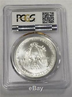Pièce De 1 $ Us En Argent American Eagle Ms70 Pcgs 1995 D'argent