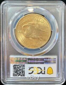 Pièce De 20 Dollars Us $ 1908 En Or Américain Eagle Saint Gaudens Ms64 Pcgs Menthe