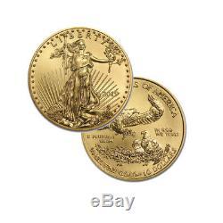 Pièce De 20 Dollars Us En Or Avec Monnaies American Eagle De 10 Dollars Us Or 2019