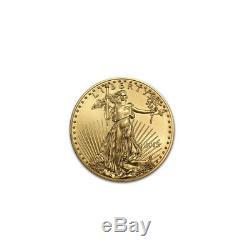 Pièce De 20 Dollars Us En Or Avec Monnaies Us De 5 $ Us Avec Or 1/9 Oz D'or 2019