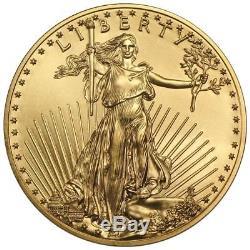 Pièce De Monnaie Américaine Menthe Datée Au Hasard, 1/4 Oz, American Eagle