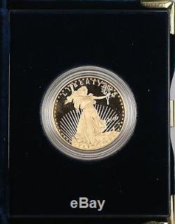 Pièce Justificative En Or American Eagle D'une Valeur De 50 $ En 2010 Émise Par La Monnaie Des États-unis