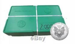 Pièces De Monnaie Américaines 1 Oz 2016 En Argent Sterling W 500 Dans Une Boîte Monstre Us À La Menthe