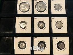 Platinum Eagles Lot 9 Unc Coins 3,0 Oz Platinum
