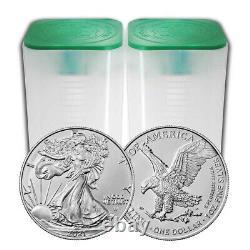 Presale Lot De 40 2021 $1 Type 2 American Silver Eagle 1oz Brillant Uncircu