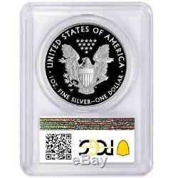Prévente 2017-w (2020) Preuve 1 $ Américain Silver Eagle Pcgs Pr70dcam Us Mint Sp