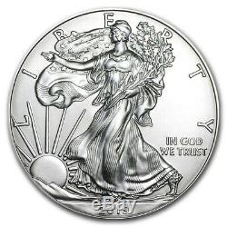 Prix Spécial! 2019 Silver American Eagle Bu (lot De 20) Ugs # 185508