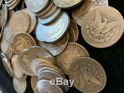 Rouleau (20 Pièces) $ 1 Cull 1878-1904 Morgan Us Silver Dollars Aigle 90% En Vrac Lot