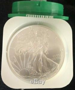 Rouleau De 20 2008 $ 1 Argent American Eagles 1 Oz Coins Bu De Us Mint Le Bateau Libre