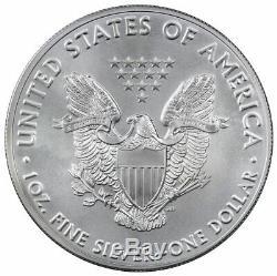 Rouleau De 20 2016 1 Oz 999 En Argent Fin American Eagle Bu Pièces De Monnaie Mint Tube