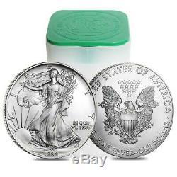 Rouleau De 20 Argent American Eagle 1 Oz. 999 Us Mint American Eagles $ 1 Pièces Bu