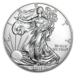 Tube De 20 Unités American Silver Eagle 2016 De 1 Pièce Avec Pièce De Monnaie Américaine