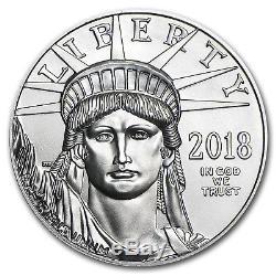 Ua 2018 Platinum American Eagle (avec U. S. Mint Box)
