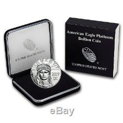 Ub 2019 Platinum American Eagle Bu (avec U. S. Mint Box) Sku # 185245