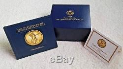 Ultra Eagle Double Relief 20 $ Or 2009 Ngc Ms-70 Withogp Mint Box & Coa
