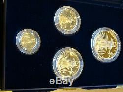 Us Mint 2006 American Eagle Gold Proof Set Livraison Gratuite