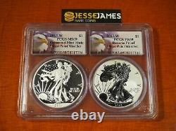 W Silver Eagle Pcgs Pr69 Ms69 West Point Mint 2 Coin Set Multiholder 2013 W Silver Eagle Pcgs Pr69 Ms69 West Point Mint 2 Coin Set Multiholder