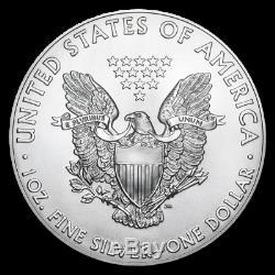 (lot 100) 1 2020 Argent Eagles Ounce Américains. 999 1 Oz
